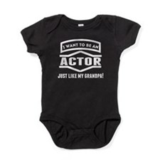 Actor Just Like My Grandpa Baby Bodysuit
