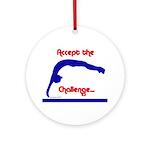 Gymnastics Ornament - Challenge