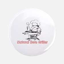 NATURAL BORN GRILLER - BARBQ Button