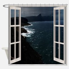 Ocean Night Shower Curtain