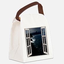 Ocean Night Canvas Lunch Bag