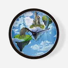 Nature Scene Wall Clock