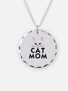 Cute Cat mom Necklace