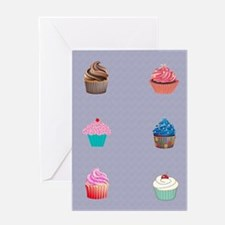 Cupcakes Greeting Cards