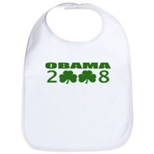 Obama 2008 Shamrocks Bib