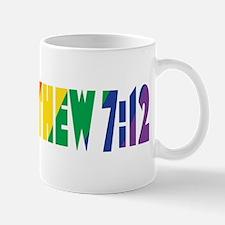 Matthew 7:12 Mug