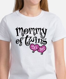 Mommy of Twins 2016 Tee