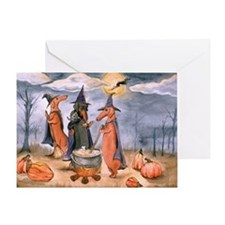All Howls Eve Greeting Card