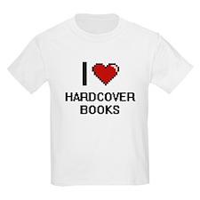 I love Hardcover Books T-Shirt