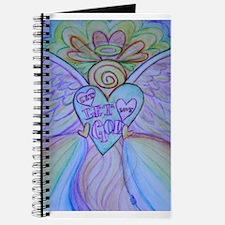 Let Love, Let God Rainbow Angel Journal