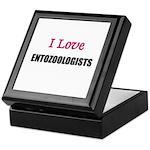 I Love ENTOZOOLOGISTS Keepsake Box