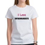 I Love ENTOZOOLOGISTS Women's T-Shirt