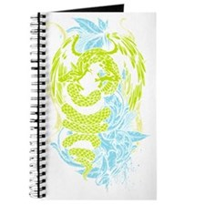 Snake Dragon (colored) Journal