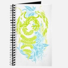Snake Dragon (colored) Journal
