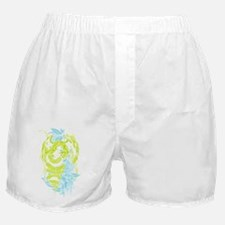 Snake Dragon (colored) Boxer Shorts