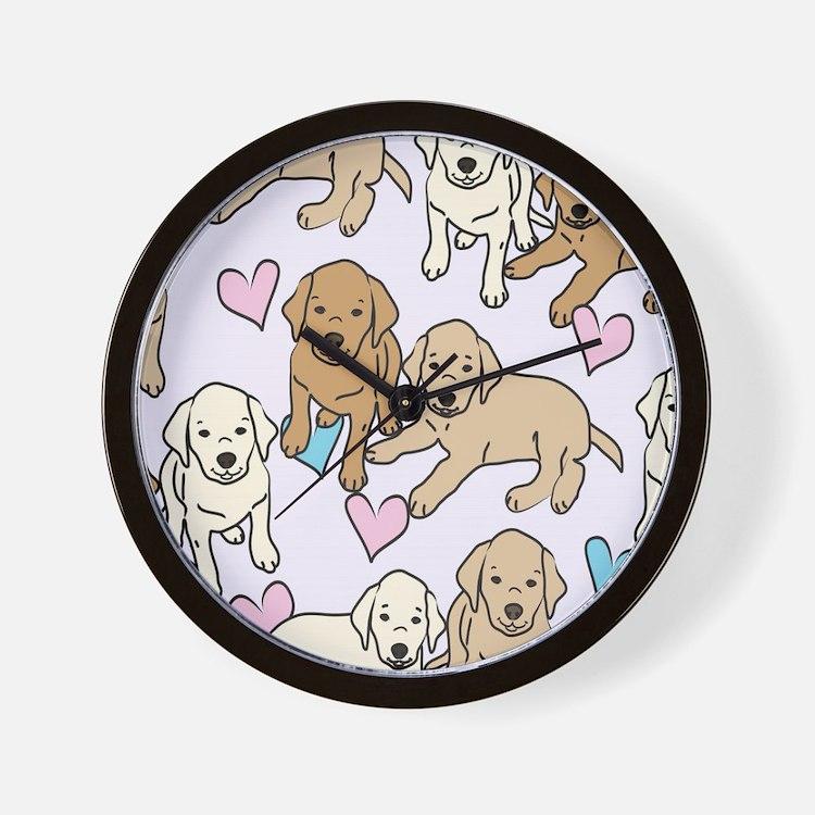 Cute Rescue Wall Clock