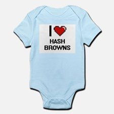I love Hash Browns Body Suit