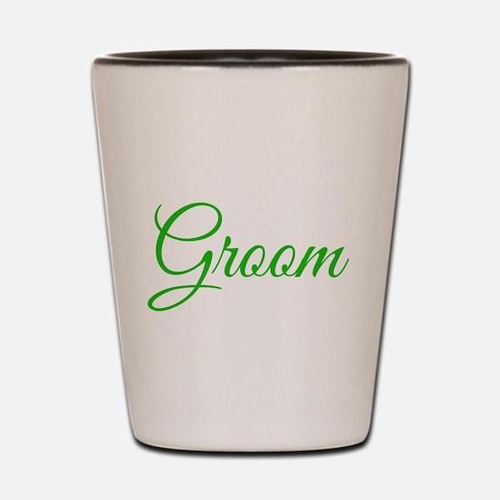 Groom Shot Glass