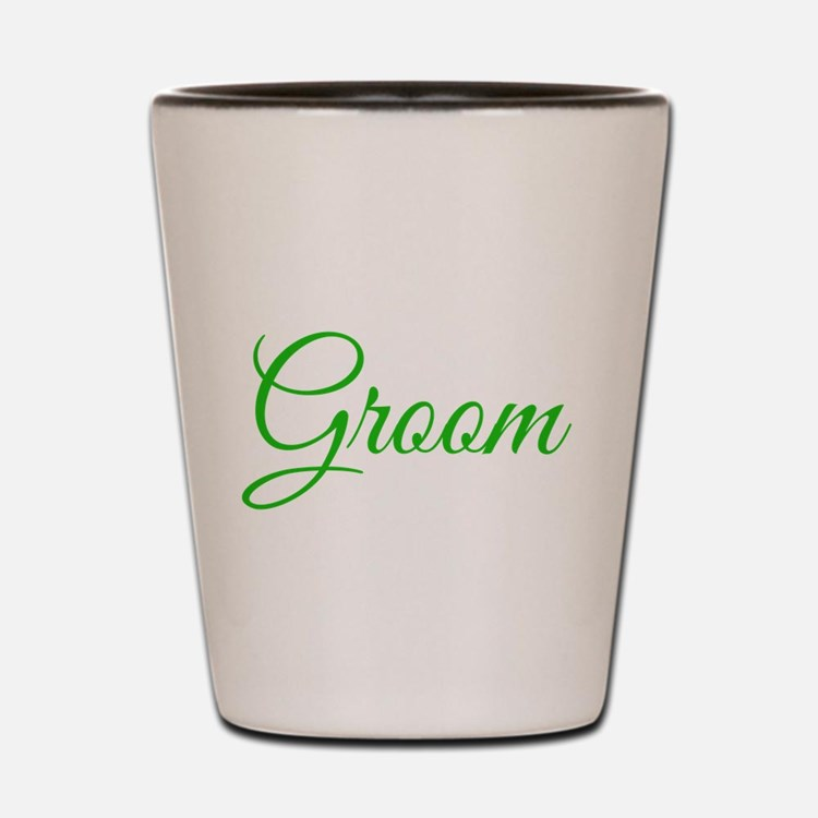 Groom Shot Glass