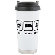 Cute Stick figures Travel Mug