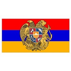 ARMENIA FLAG Framed Print
