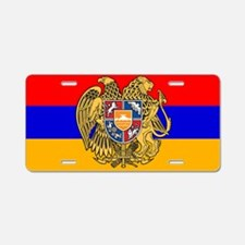 ARMENIA FLAG Aluminum License Plate