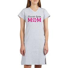 Finnish Spitz Mom Women's Nightshirt
