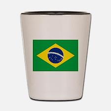 Brazil Flag Shot Glass