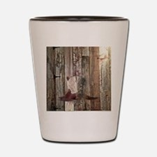vintage western country cowboy  Shot Glass