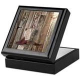 Texas art Square Keepsake Boxes