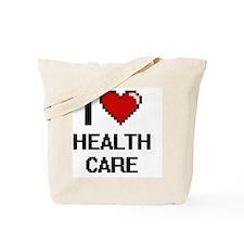I love Health Care Tote Bag