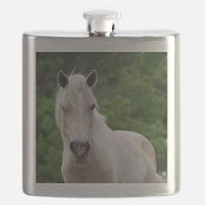 Assateague horse 3 Flask