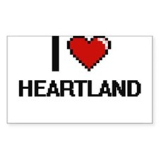 I love Heartland Decal