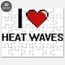 I love Heat Waves Puzzle