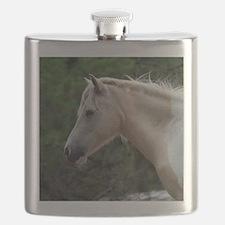 Assateague horse 4 Flask