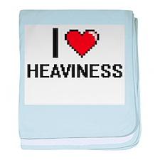I love Heaviness baby blanket