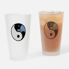 Harmony With Earth Drinking Glass