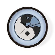 Harmony With Earth Wall Clock