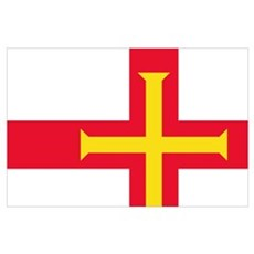 Guernsey flag Poster
