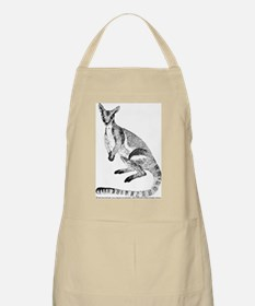 Yellow-footed Rock Wallaby BBQ Apron