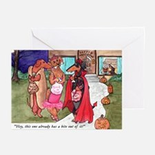Tricky Treater Greeting Cards (Pk of 10)