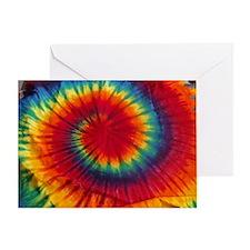 Tie Dye Greeting Card
