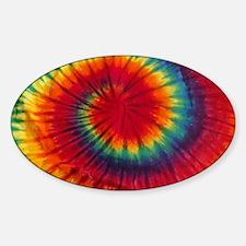Tie Dye Sticker (Oval)