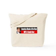 Donald Trump Comb Over Tote Bag