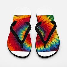 Tie Dye Flip Flops