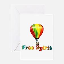 Free Spirit Greeting Card