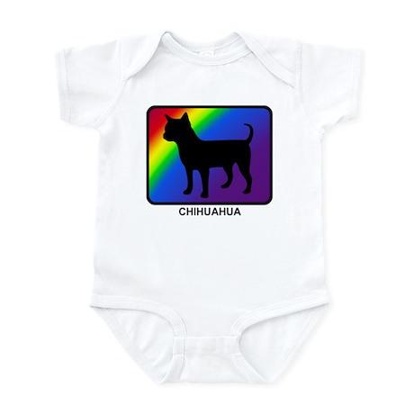 Chihuahua (rainbow) Infant Bodysuit