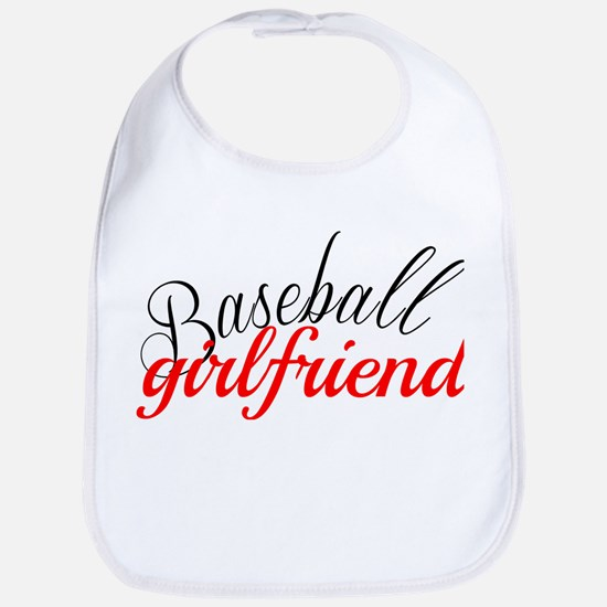 Baseball Girlfriend Bib