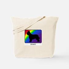 Briard (rainbow) Tote Bag