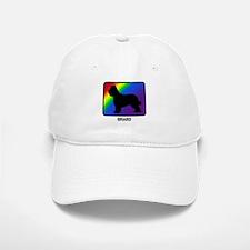 Briard (rainbow) Baseball Baseball Cap